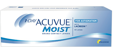 1-Day Acuvue Moist for Astigmatism contact lenses by Johnson & Johnson