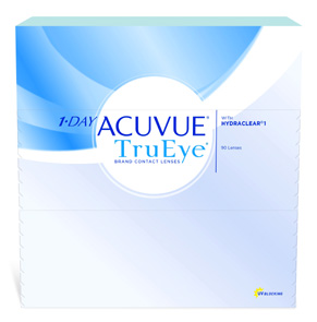1-Day Acuvue TruEye contact lenses by Johnson & Johnson