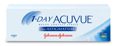 1 Day Acuvue for Astigmatism contact lenses by Johnson & Johnson