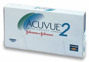 Acuvue 2 contact lenses by Johnson & Johnson