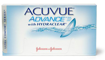 Acuvue Advance with Hydraclear contact lenses by Johnson & Johnson