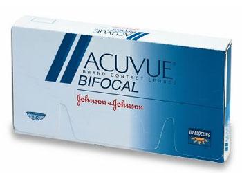 Acuvue Bifocal contact lenses by Johnson & Johnson