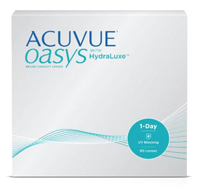 Acuvue Oasys 1-Day contact lenses by Johnson & Johnson