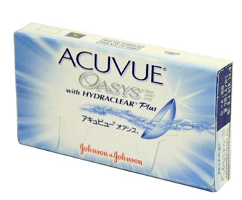 Acuvue Oasys with Hydraclear contact lenses by Johnson & Johnson