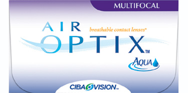 Air Optix Aqua Multifocal contact lenses by CIBA Vision