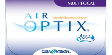 Air Optix Aqua Multifocal contact lenses by CIBA Vision