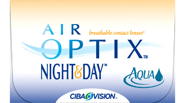 Air Optix Night & Day Aqua contact lenses by CIBA Vision