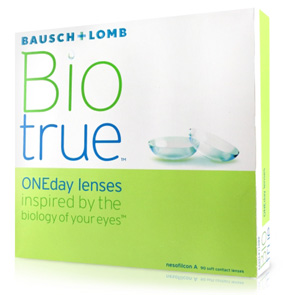 Biotrue ONEday contact lenses by Bausch & Lomb