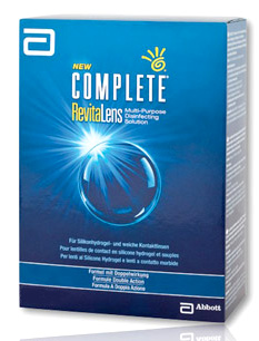 Complete RevitaLens contact lens solution by AMO
