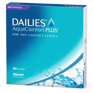 Dailies AquaComfort Plus Multifocal contact lenses by CIBA Vision