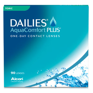 Dailies AquaComfort Plus Toric contact lenses by CIBA Vision