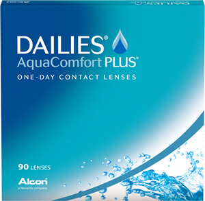 Dailies AquaComfort Plus contact lenses by CIBA Vision