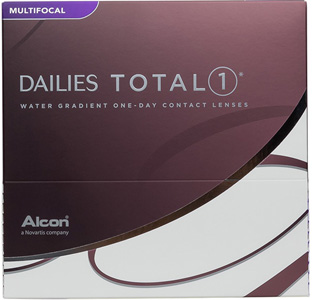 Dailies Total 1 Multifocal contact lenses by CIBA Vision