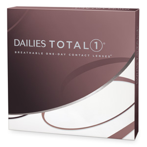 Dailies Total 1 contact lenses by CIBA Vision