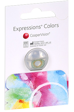 Expressions Colours contact lenses by Coopervision