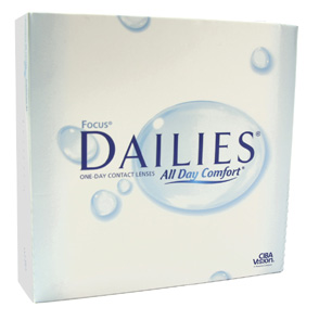 Focus Dailies All Day Comfort contact lenses by CIBA Vision