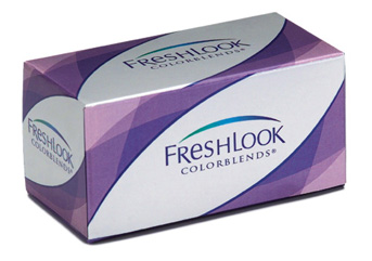Freshlook ColourBlends contact lenses by CIBA Vision