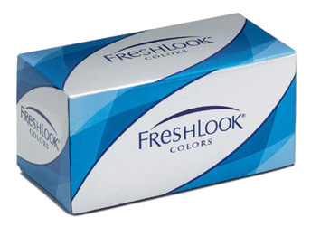 Freshlook Colours contact lenses by CIBA Vision
