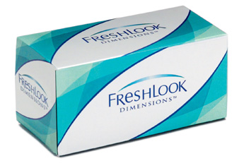 Freshlook Dimensions contact lenses by CIBA Vision