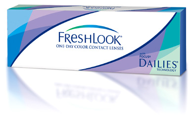 Freshlook One-Day contact lenses by CIBA Vision