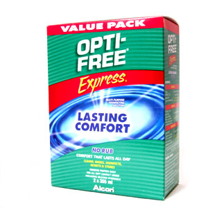 Opti-Free Express contact lens solution by CIBA Vision