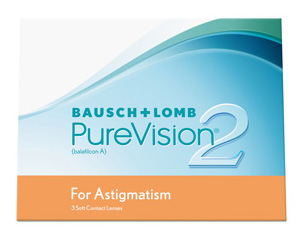 Purevision 2 HD for Astigmatism contact lenses by Bausch & Lomb