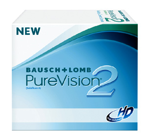 Purevision 2 contact lenses by Bausch & Lomb