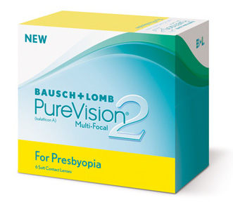 Purevision 2 Multi-Focal contact lenses by Bausch & Lomb