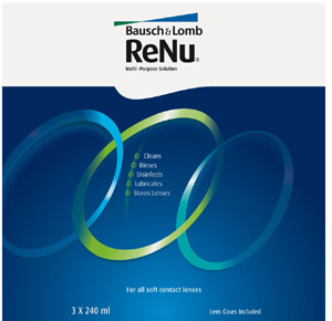 Renu Multi-Purpose contact lens solution by Bausch & Lomb