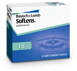 Soflens 38 contact lenses by Bausch & Lomb