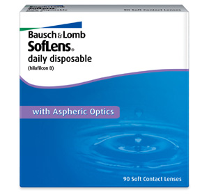 Soflens Daily Disposable contact lenses by Bausch & Lomb