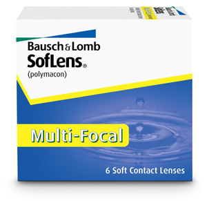 Soflens Multifocal contact lenses by Bausch & Lomb