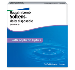 Soflens One Day contact lenses by Bausch & Lomb