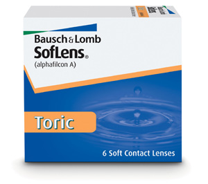 Soflens Toric contact lenses by Bausch & Lomb