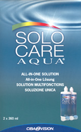 Solo-Care Aqua contact lens solution by CIBA Vision