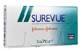 Surevue contact lenses by Johnson & Johnson