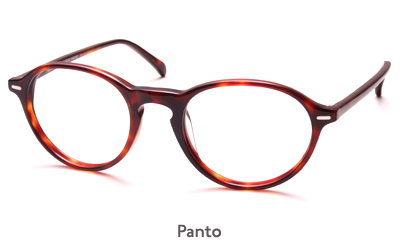 Anglo American Optical Panto glasses