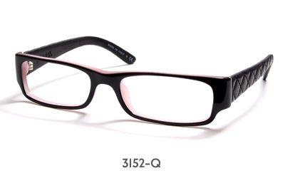 Discontinued Chanel Eyeglass Frames : Chanel 3152-Q glasses frames * DISCONTINUED MODEL