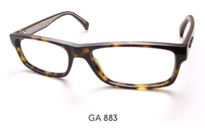giorgio armani ga 883 glasses