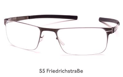 IC Berlin S5 FriedrichstraBe glasses
