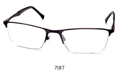 Jensen Black 718T glasses
