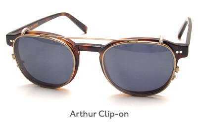 Moscot Arthur Clip-on glasses