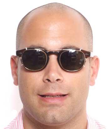 Moscot Cliptosh glasses