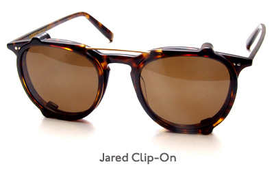 Moscot Jared Clip-on glasses