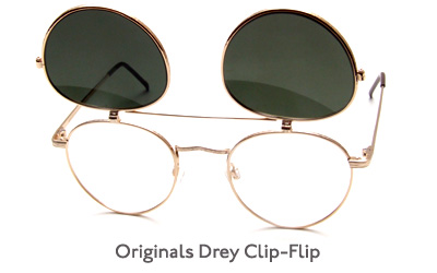 Moscot Originals Drey Clip-Flip glasses