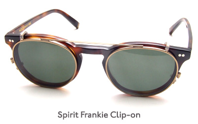 Moscot Spirit Frankie Clip-on glasses