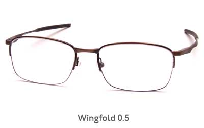 Oakley Rx Wingfold 0.5 glasses