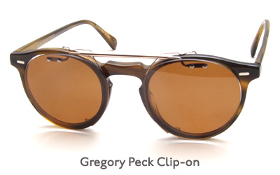 Oliver Peoples Gregory Peck Clip-on glasses