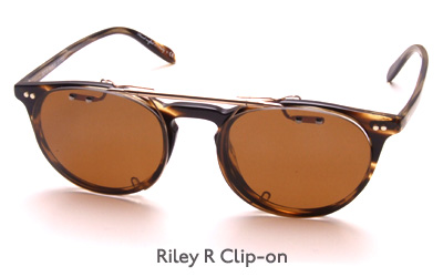 Oliver Peoples Riley R Clip-on glasses