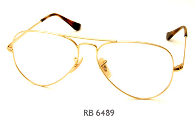 Ray-Ban RB 6489 glasses